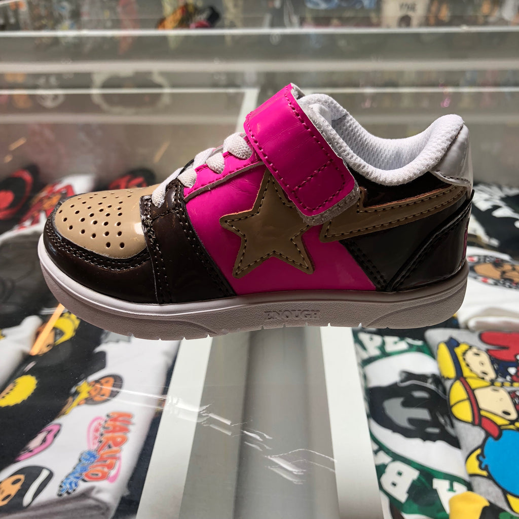 Bape Kids Bapesta Neapolitan Brown/Pink/Tan - Exhibit A