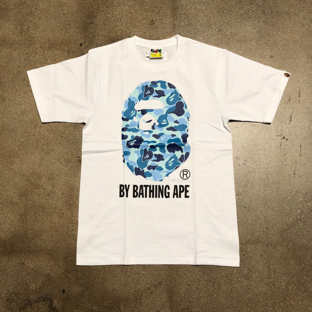 ABC Camo By Bathing Tee White/Blue - Exhibit A