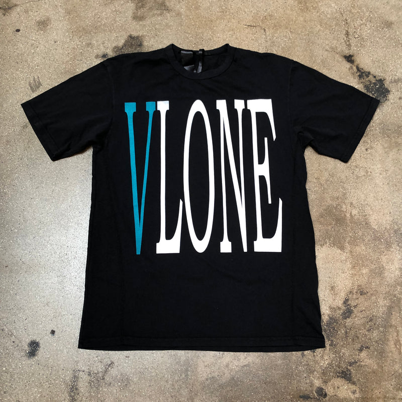 VLONE Staple Tee Black/Blue - Exhibit A