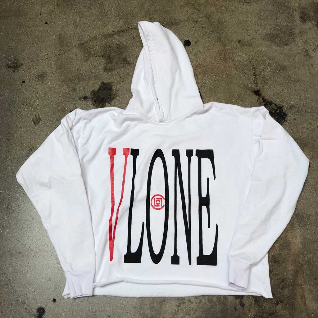 VLONE x Clot Dragon Pullover Hoodie White/Red - Exhibit A