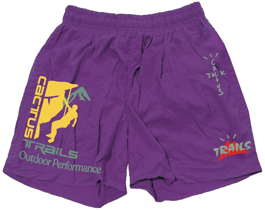 Travis Scott Climb Shorts Purple