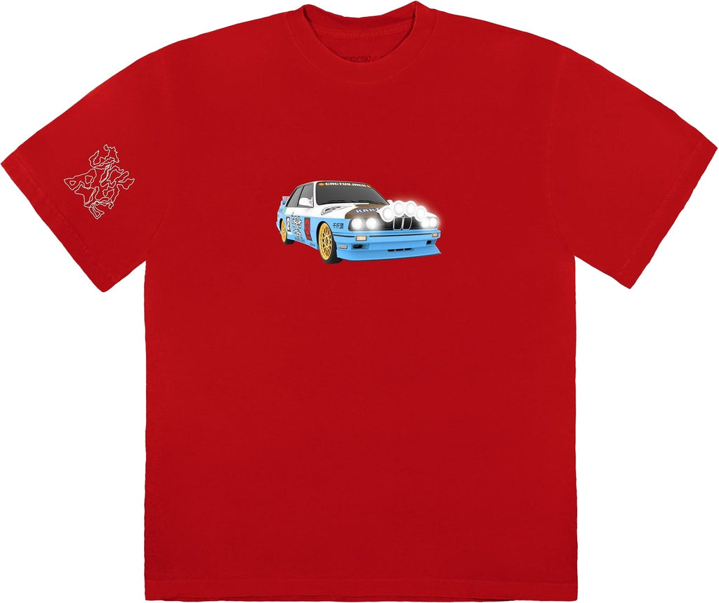 Travis Scott JACKBOYS Vehicle T-Shirt Red