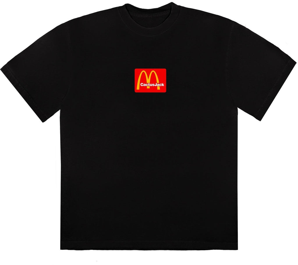 Travis Scott x McDonald's Sesame II T-Shirt Black/Red