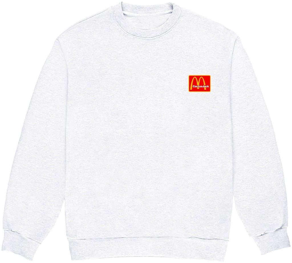Travis Scott x McDonald's Staff Crewneck Ash