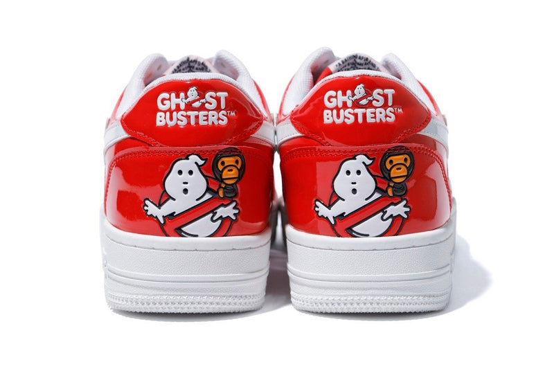 Bape Bapesta Low Ghostbusters Red