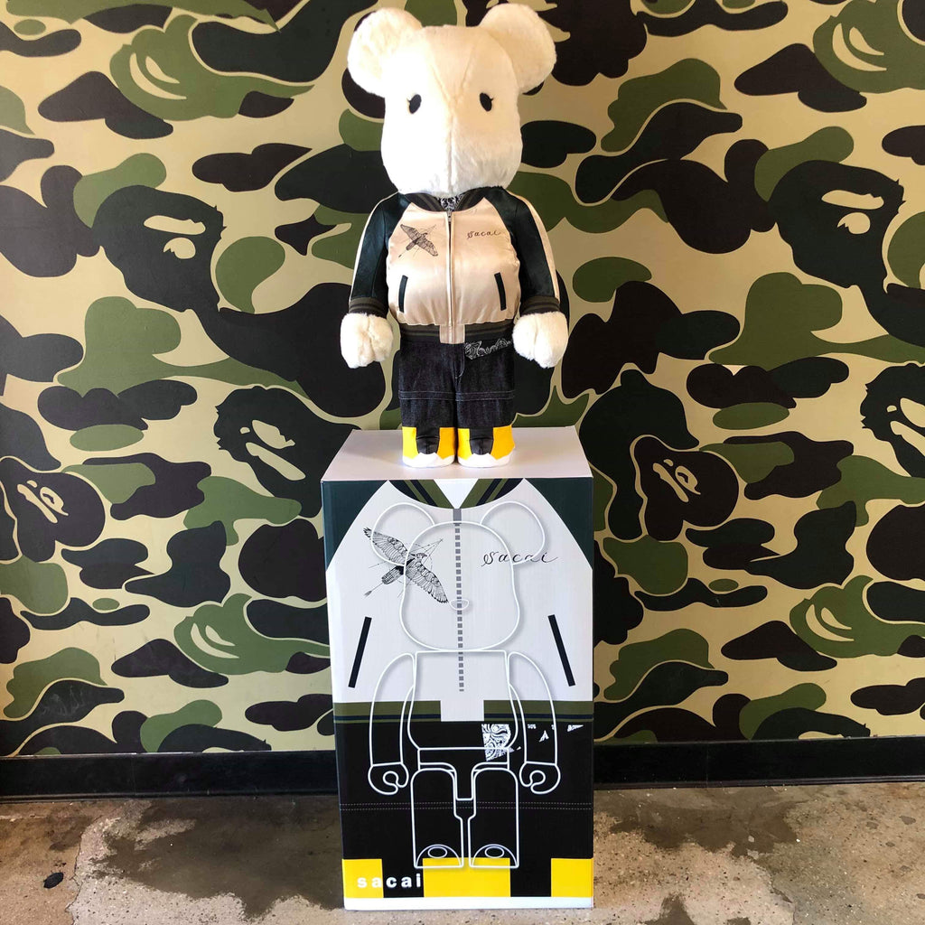 Medicom Sacai 2019 1000% Bearbrick - Exhibit A