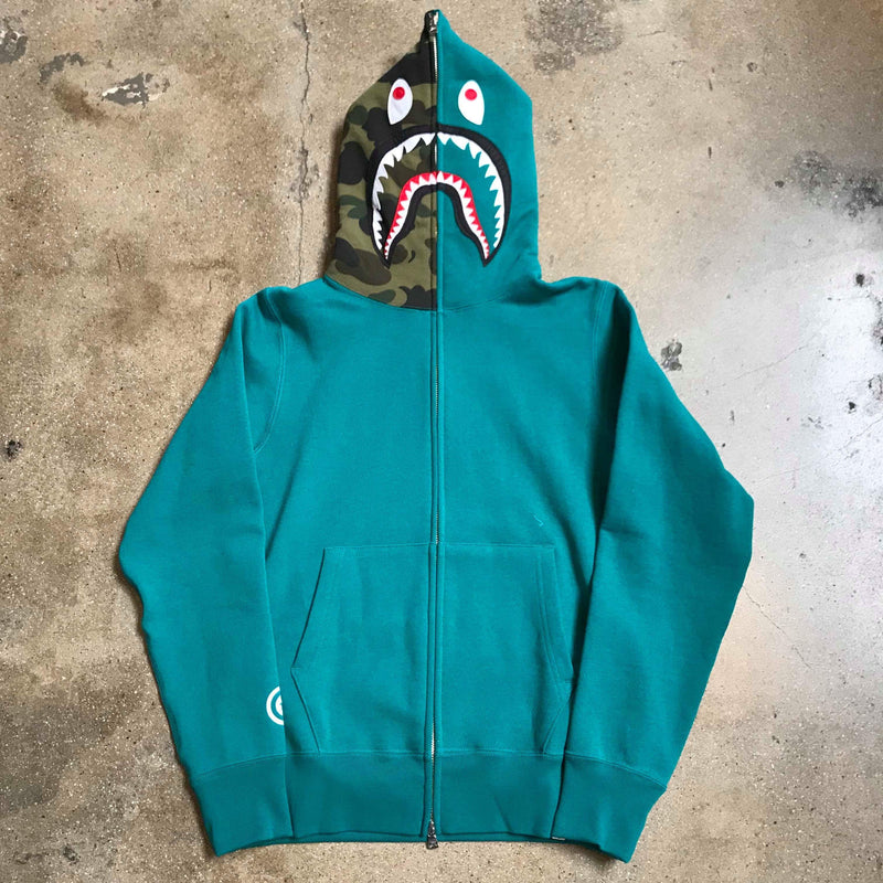 Bape Shark Hoody Green - Exhibit A
