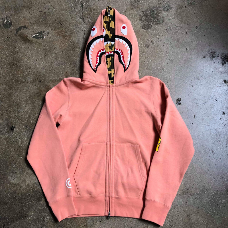PONR Double Shark Hoodie Pink/Yellow - Exhibit A