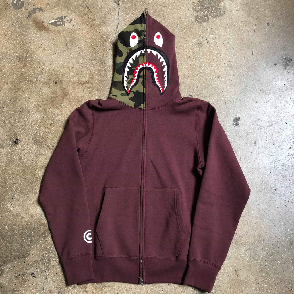 Shark Hoodie Burgundy - Exhibit A