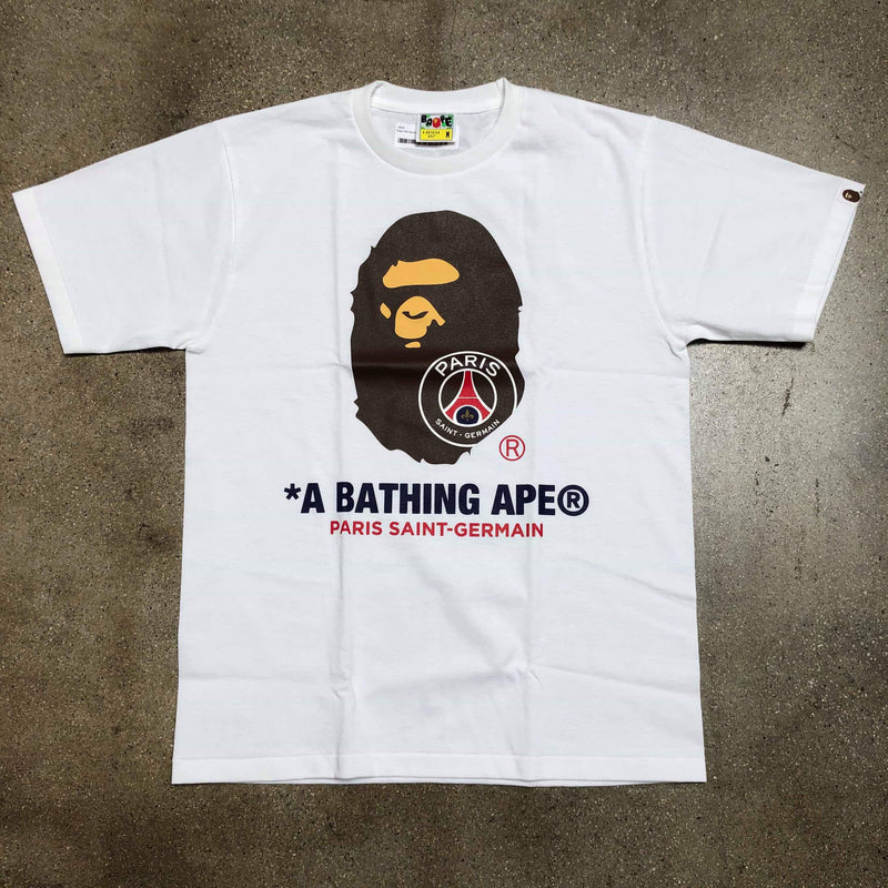 PSG By Bathing Ape White - Exhibit A