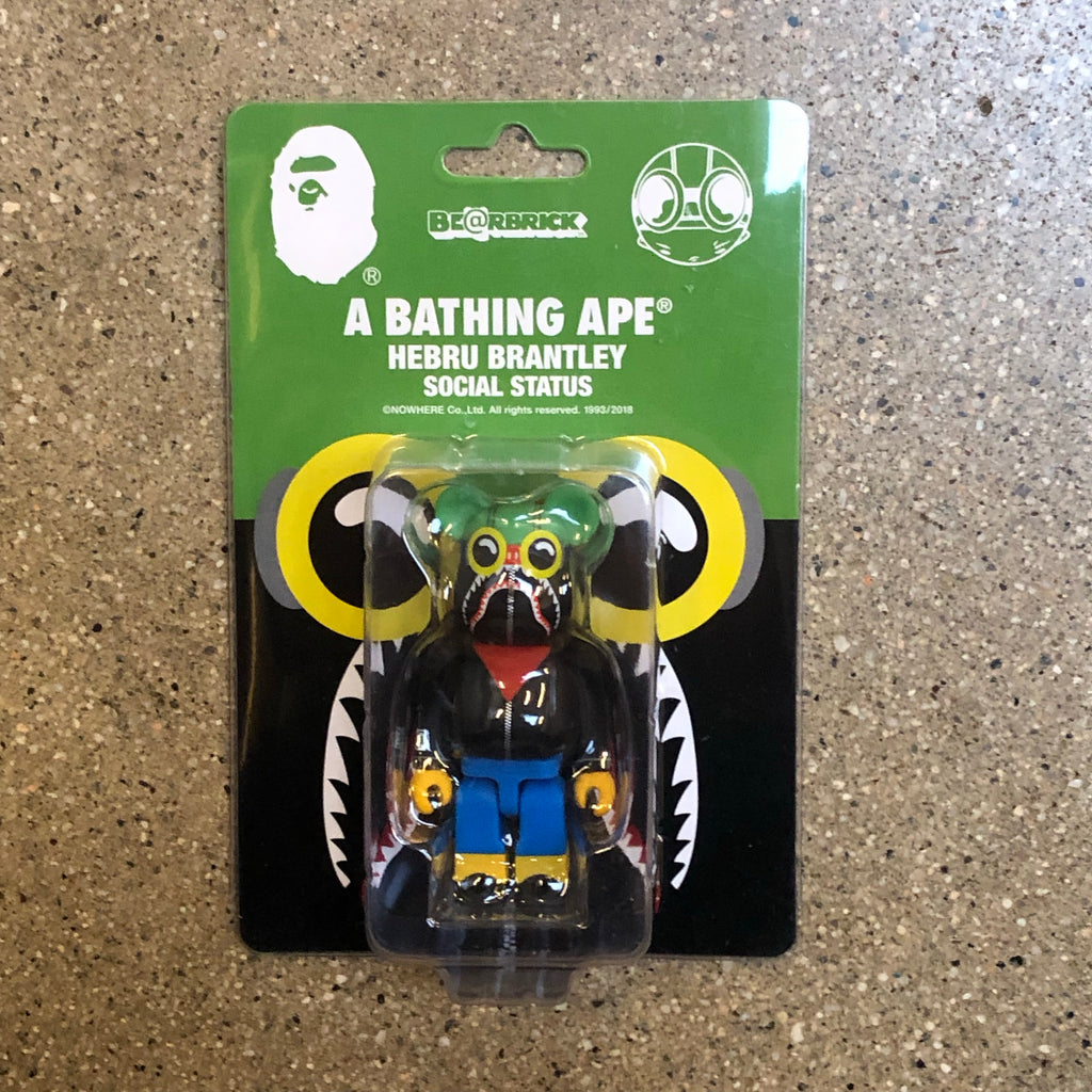 Bape Hebru Brantley Shark 100% Bearbrick - Exhibit A