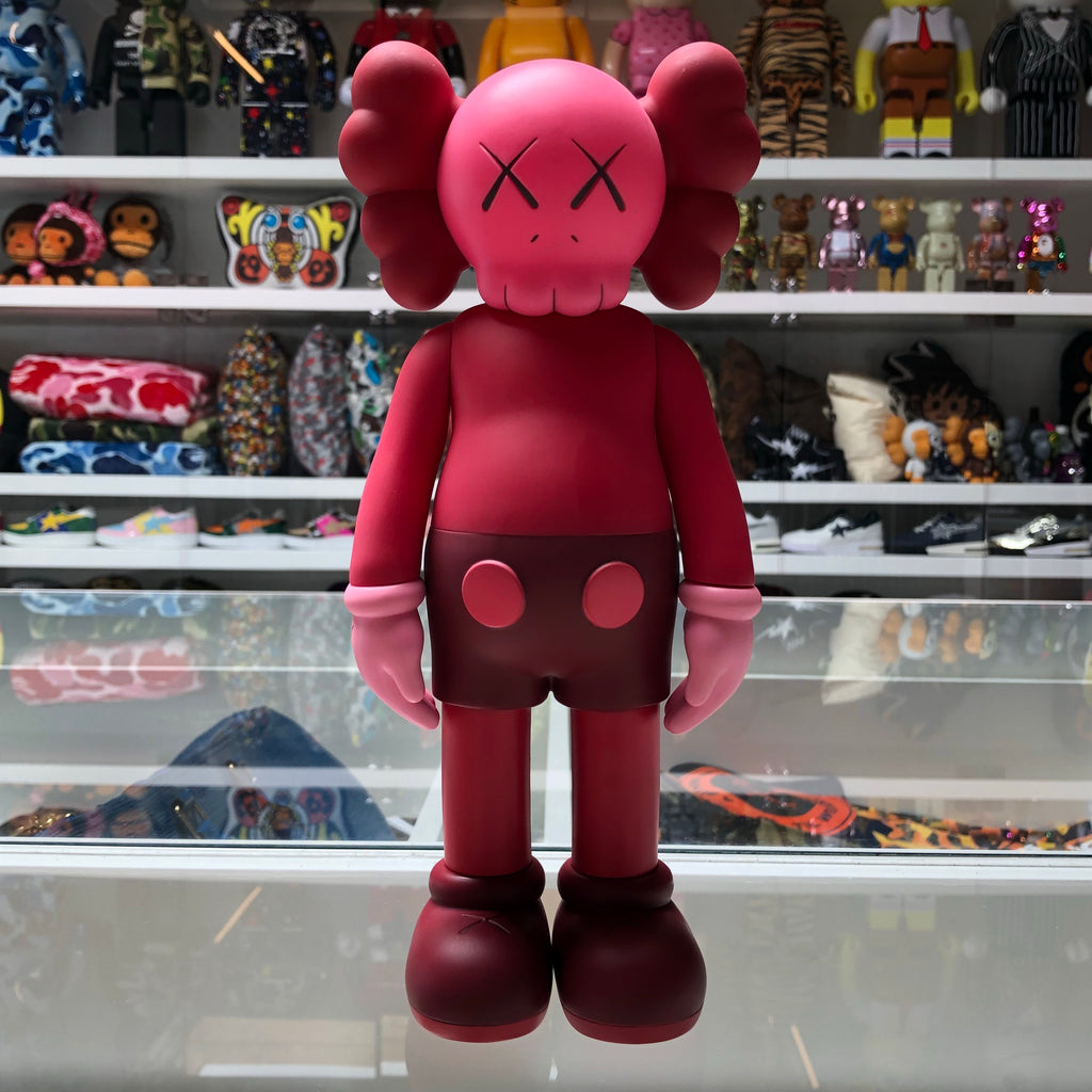 KAWS Companion Open Edition Vinyl Figure Red - Exhibit A