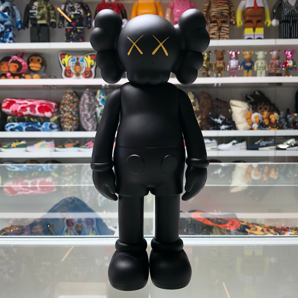 KAWS Companion Open Edition Vinyl Figure Black - Exhibit A