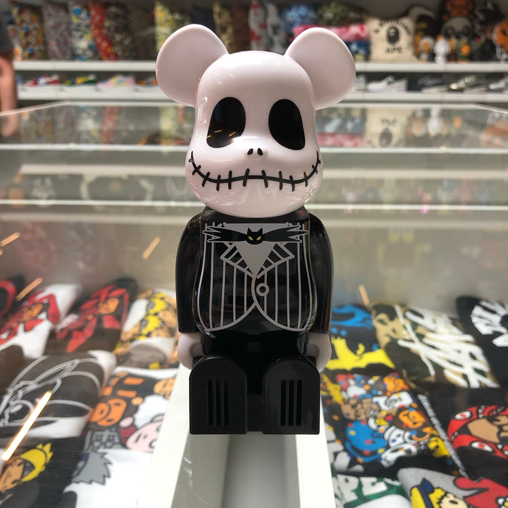 Cleveren 200% Bearbrick Air Freshener Jack Skellington - Exhibit A