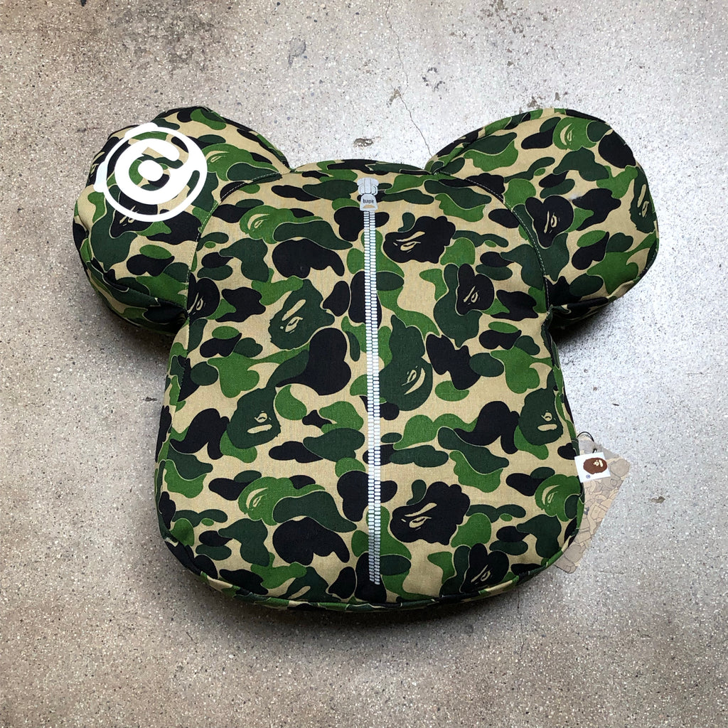 Bape ABC Camo Bearbrick Cushion Green - Exhibit A
