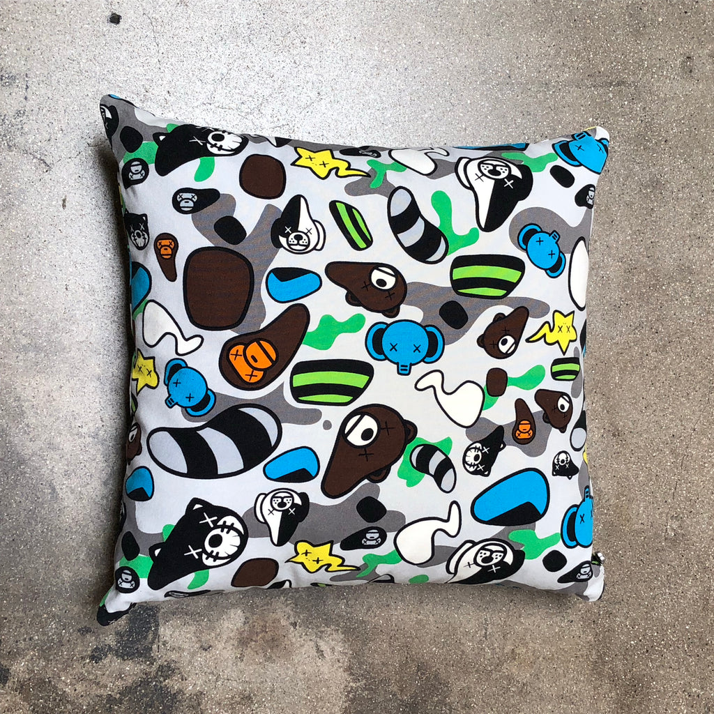 Bape x KAWS Animal Kingdom Cushion