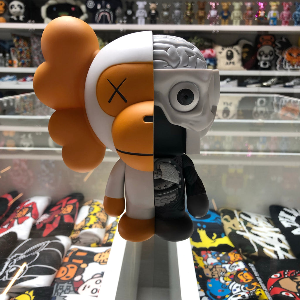 Bape x KAWS Dissected Milo Vinyl Figure White - Exhibit A