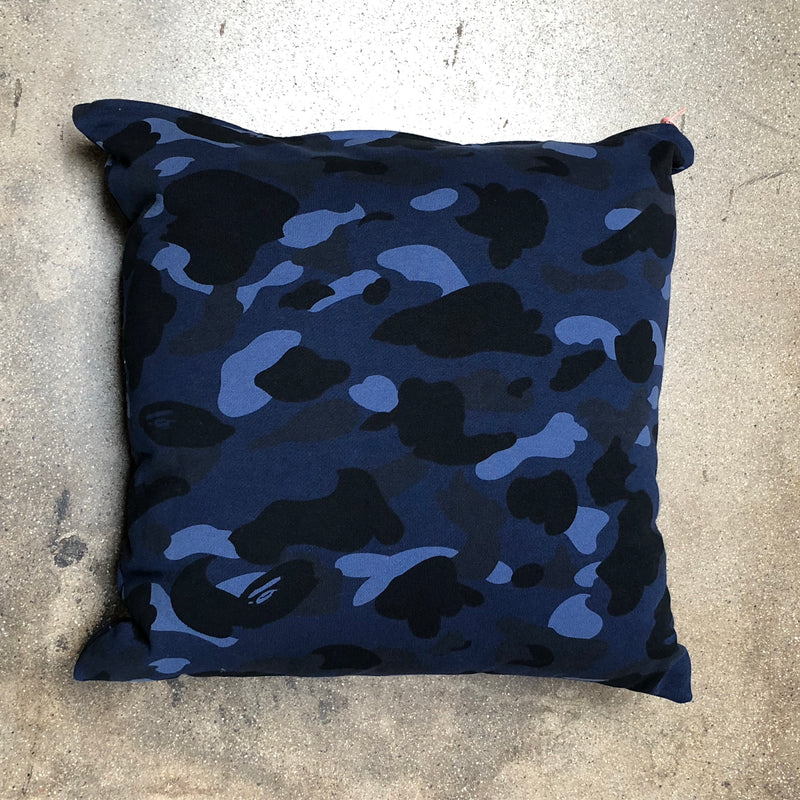 Bape Camo Cushion Navy - Exhibit A