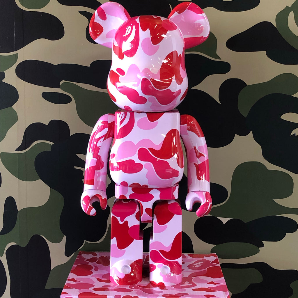 Bape ABC Camo 1000% Bearbrick Pink - Exhibit A