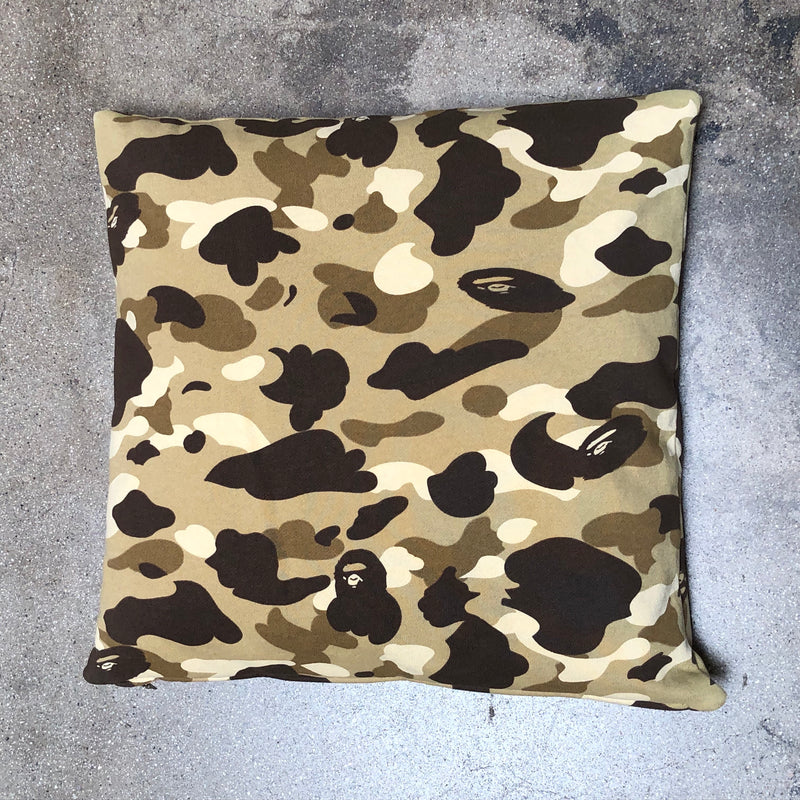 Bape Camo Cushion Light Brown - Exhibit A