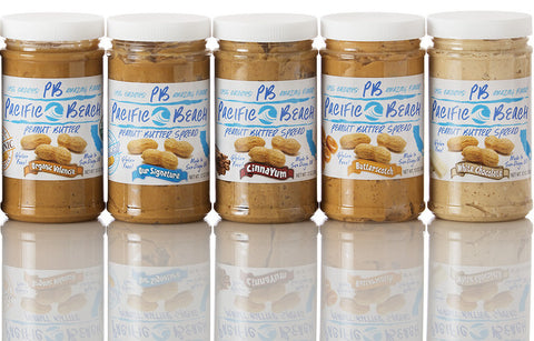 Flavored Peanut Butters