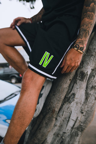 "Original ""IV"" Jersey Shorts - Black"