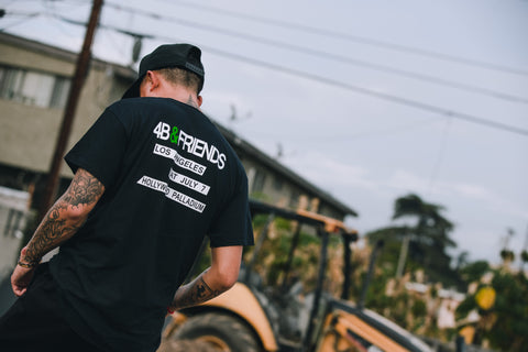 4B & Friends T-Shirt - Black