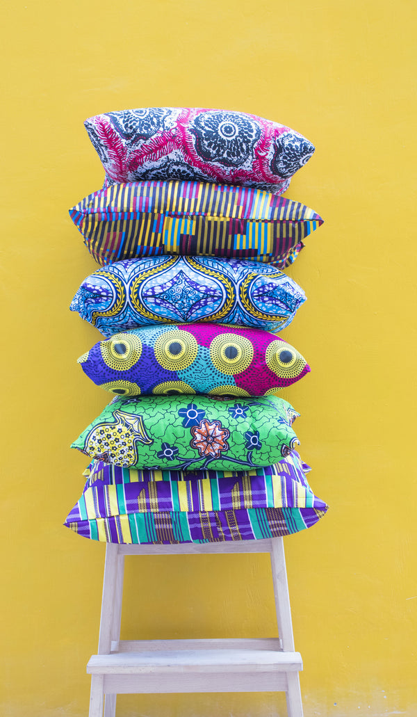 Ankara Pillows