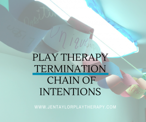 Play Therapy Termination Activity: The Chain of Intentions by Jennifer Taylor