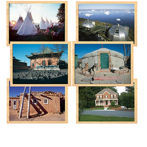 Houses Around the World 6 Puzzle Set