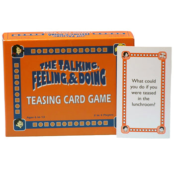 The Talking, Feeling & Doing Teasing Card Game - First Edition