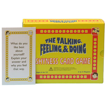 The Talking, Feeling & Doing Shyness Card Game - First Edition