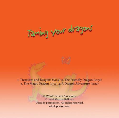 Taming Your Dragons Relaxation CD for Kids