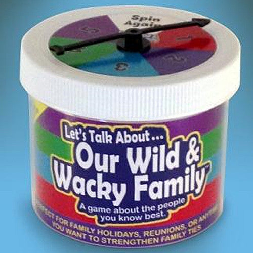 Let's Talk About ... Our Wacky & Wild Family