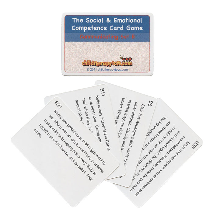 Asperger's Cards for The Social and Emotional Competence Board Game