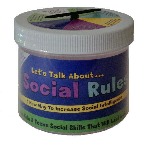 Let's Talk About ... Social Rules for Kids