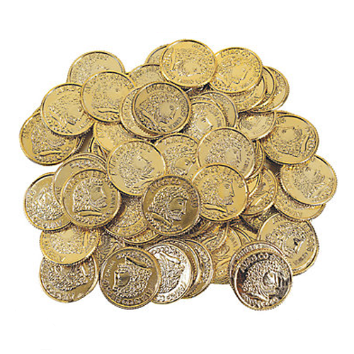 Golden Coins, Bag of 12