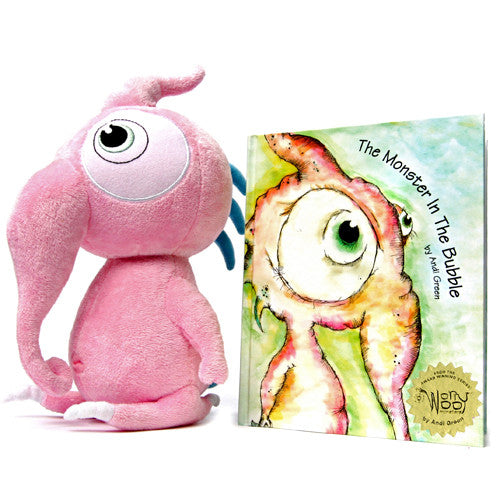 Squeek, The Monster of Innocence & Book: The Monster In The Bubble