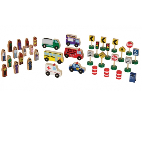 Community & Roadway Essentials Set (36 pc)