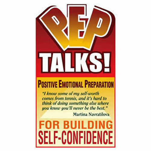 PEP Talks for Building Self-Confidence