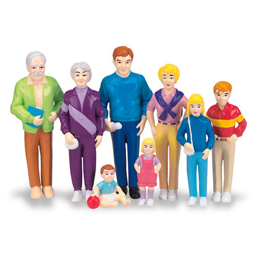 Pretend Play Family, Caucasian