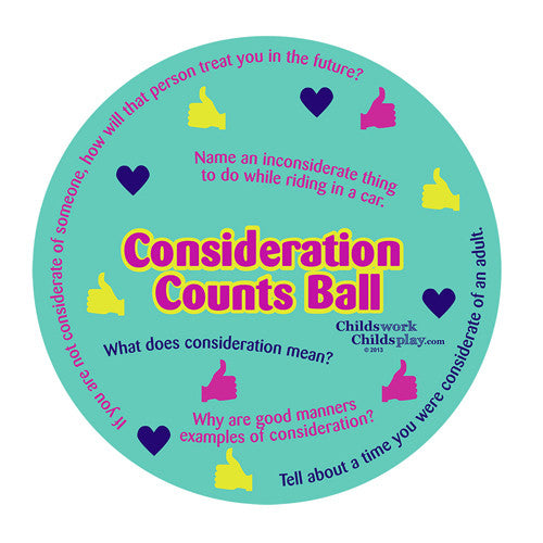 Consideration Counts Ball*