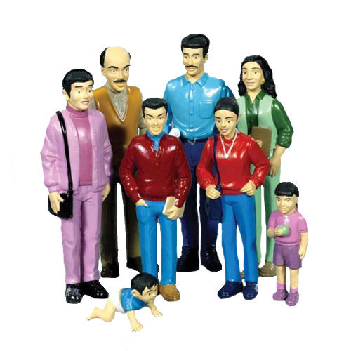 Pretend Play Family, Hispanic