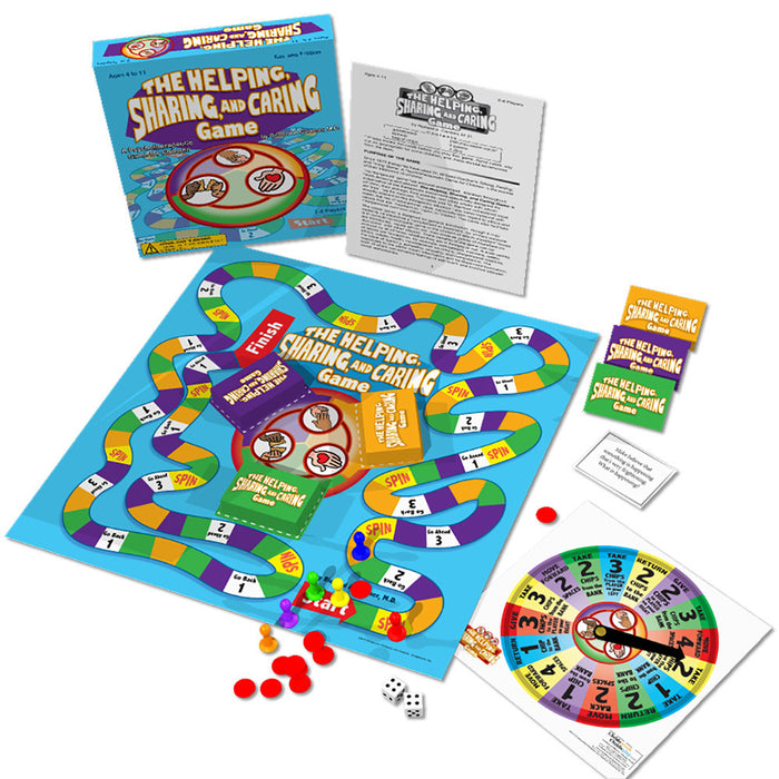 The Helping, Sharing and Caring Board Game