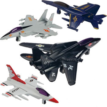 Die-Cast Fighter Jet