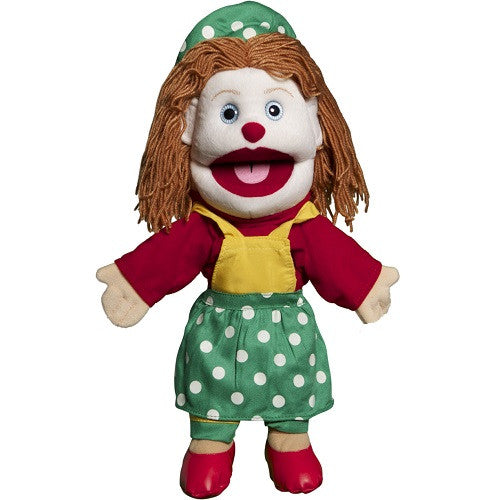 Lady Clown Puppet