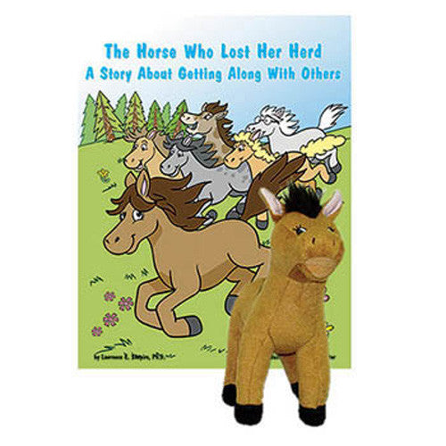The Horse Who Lost Her Herd Book & Plush