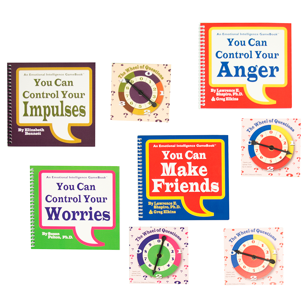 Spin & Learn! Four Game Set