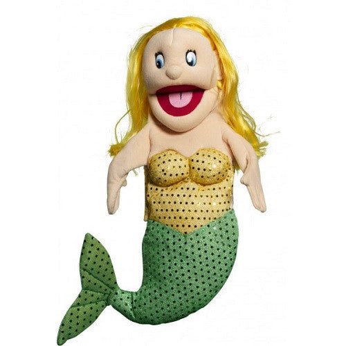 Mermaid with Yellow Hair Puppet
