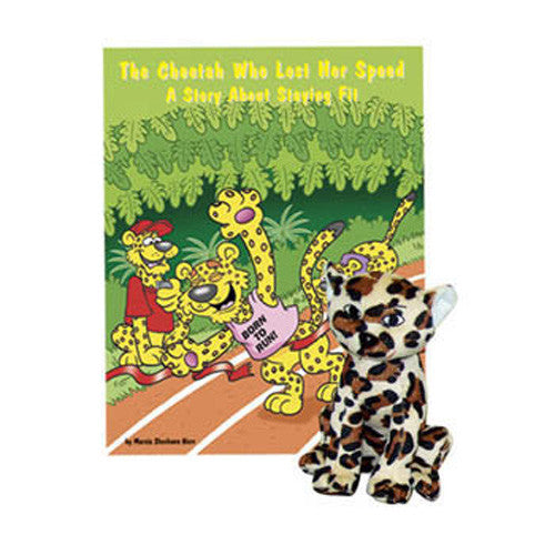 The Cheetah Who Lost Her Speed Book & Plush